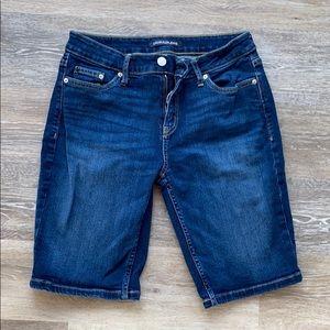 Calvin Klein size 6 Jean shorts